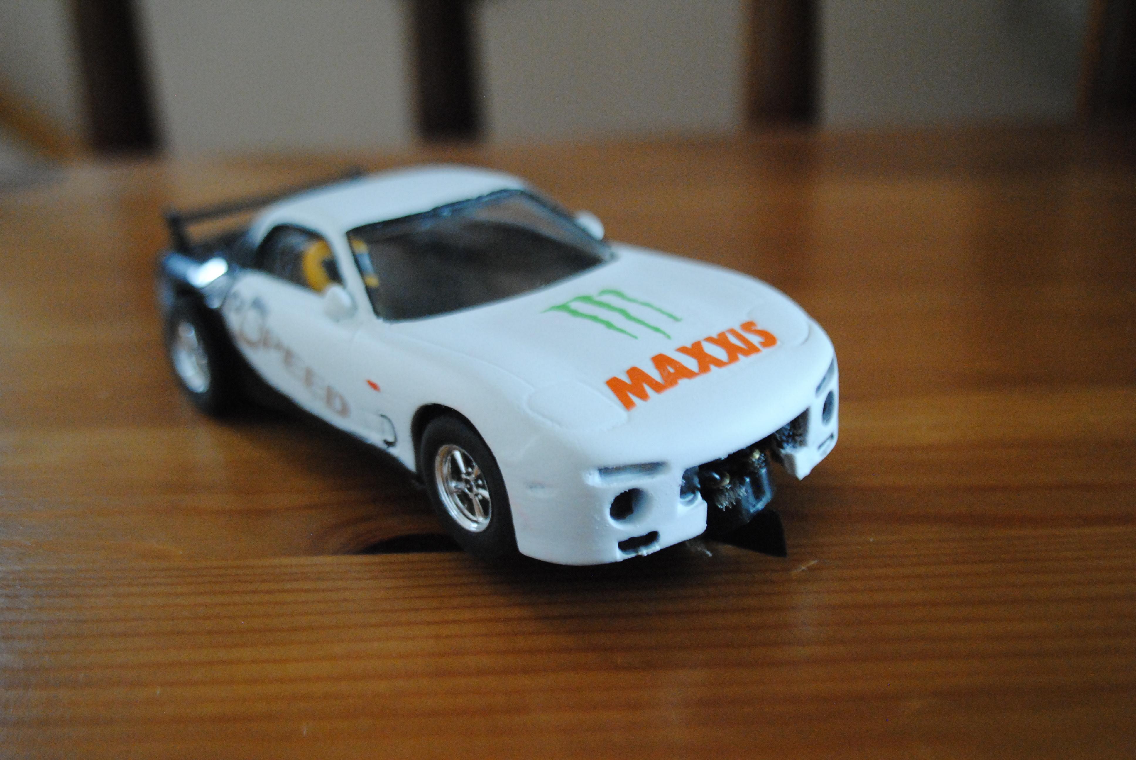 Mazda rx7 slot car